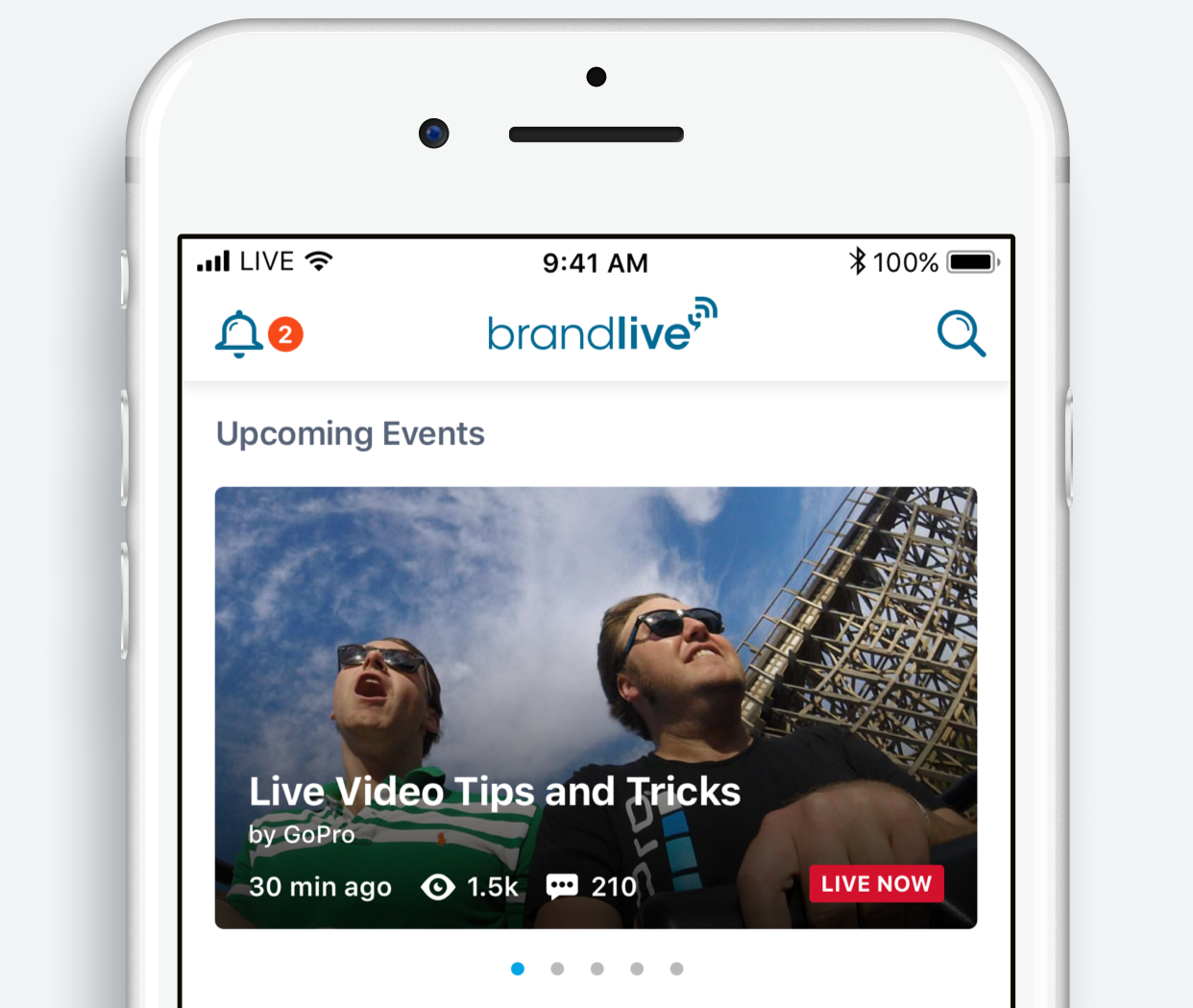 Brandlive Launches Exciting New Mobile App