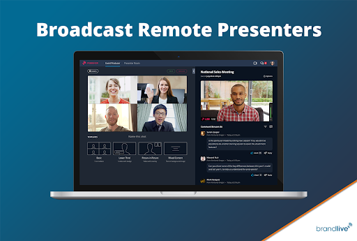 Remote Presenter: Seamlessly Integrate Livestreams From Multiple Experts