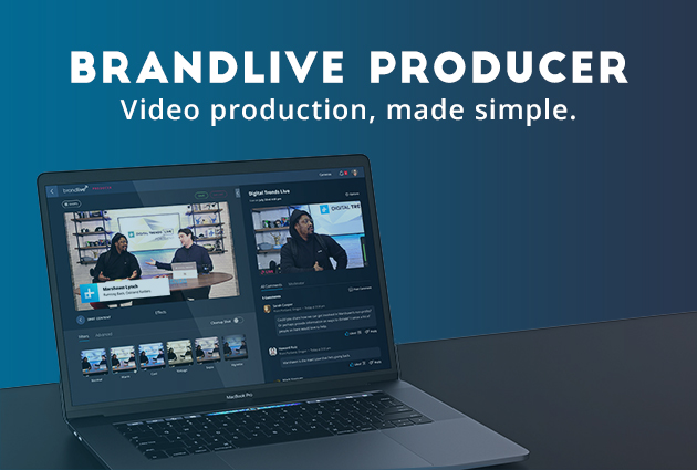 Introducing Brandlive Producer