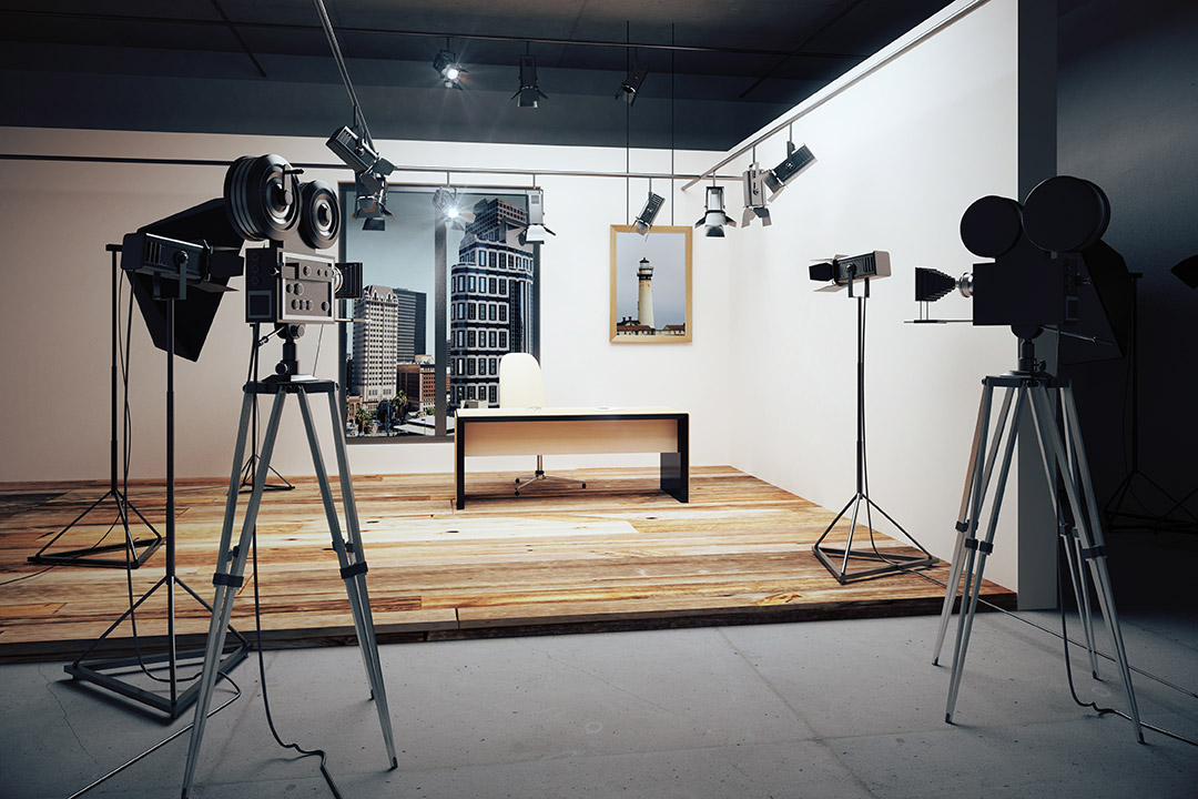 Broadcast From Our Studio Image